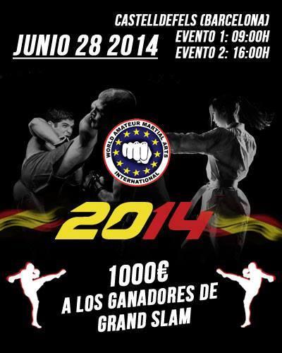 campeonato spanish open artes marciales kickboxing castelldefels mugendo