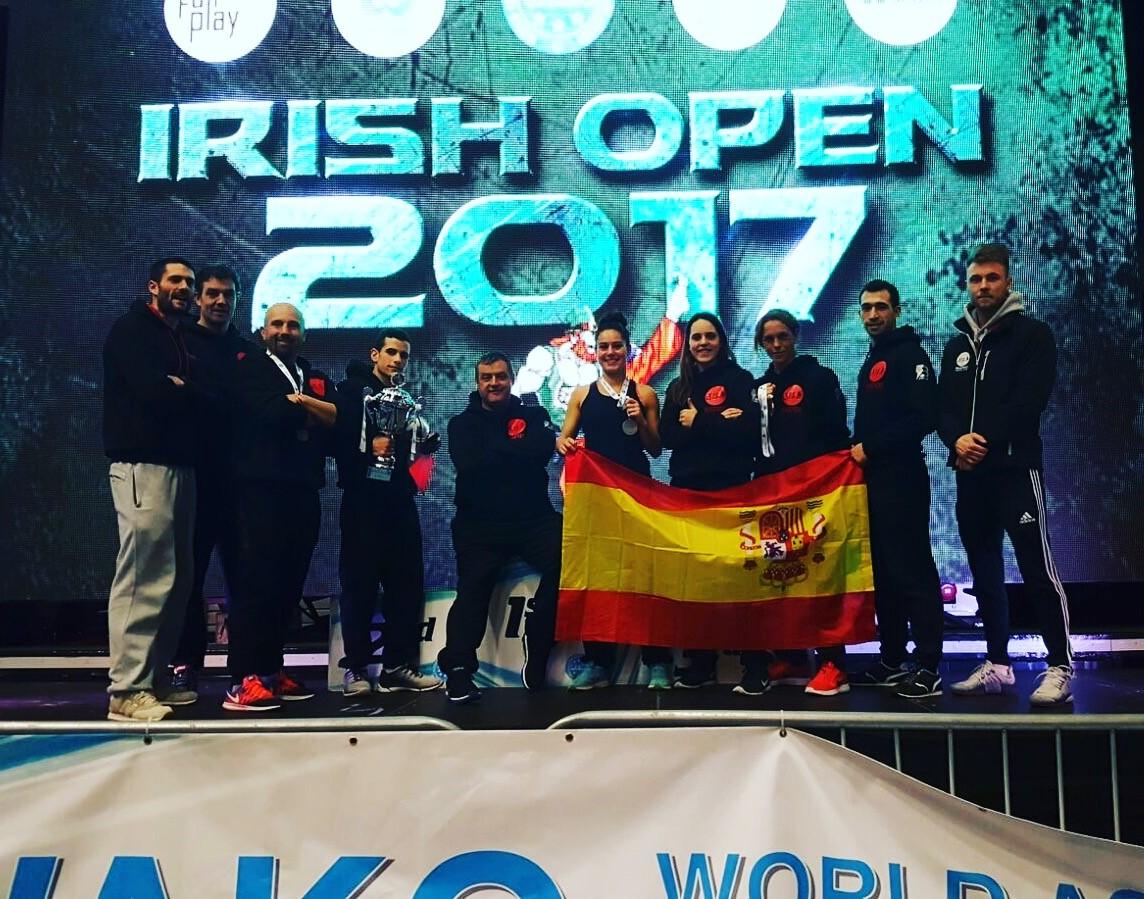 MUGENDO OBTIENE EXCELENTES RESULTADOS EN EL WAKO IRISH OPEN 2017 INTERNATIONAL OPEN